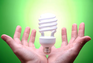 Going Green-Compact Fluorescent Light Bulbs Will Save Energy