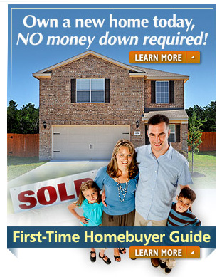 No money down new homes for sale