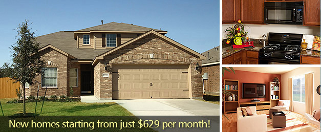 Montgomery County TX New Homes from 629 per Month LGI Homes