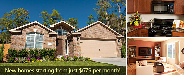 East Texas New Home Community - Woodland Creek