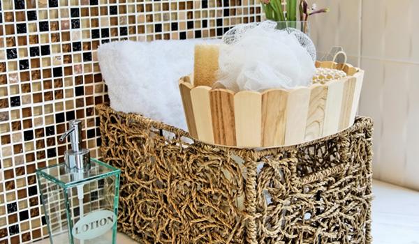 Organizational Bathroom Basket