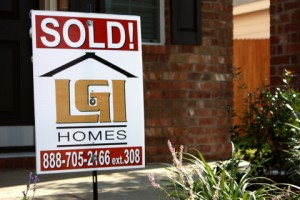 Sold House at LGI Homes Deer Creek