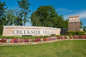 LGI Homes - Creekside Village Monument