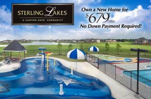 Pearland, Houston, Texas New Homes: Sterling Lakes