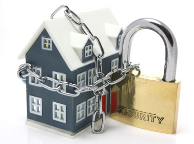 House Locked Up Securely