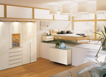 Modern New Home - Designer Bedroom