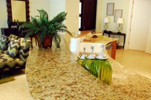 Granite Counters in Kitchen