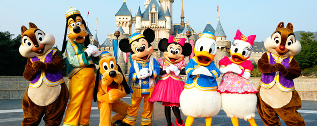 Disney Characters at Disney World Orlando