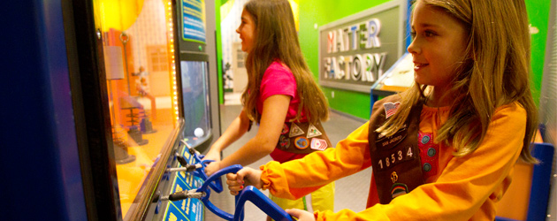 Girls Playing at the Children's Museum of Houston