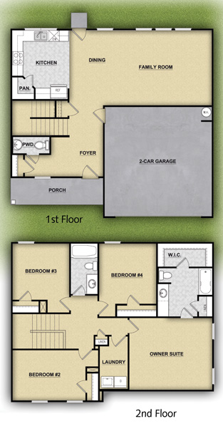 LGI Homes Atlanta floor plans